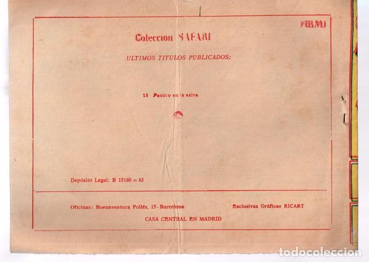 Tebeos: Safari. Nº-15 Panico en la Selva . Ricart 1965 - Foto 2 - 132938306