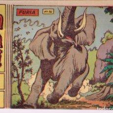 Tebeos: SAFARI. Nº-16 FURIA . RICART 1965. Lote 132938582