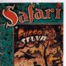 Tebeos: SAFARI. Nº-9 FUEGO EN LA SELVA . RICART 1953. Lote 132938750