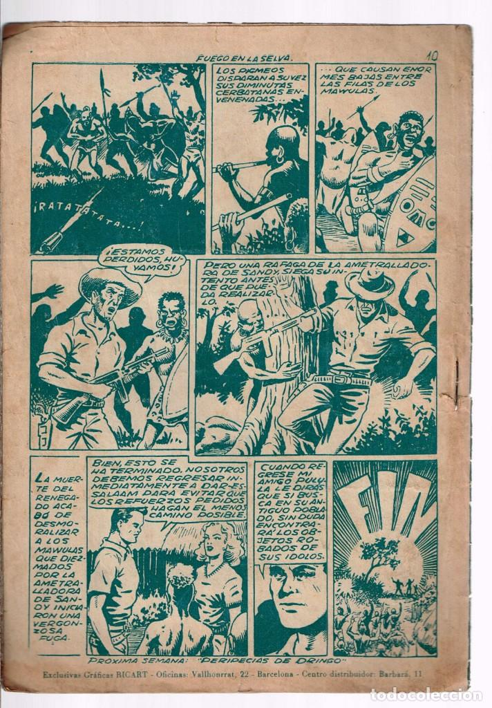 Tebeos: Safari. Nº-9 Fuego en la Selva . Ricart 1953 - Foto 2 - 132938750