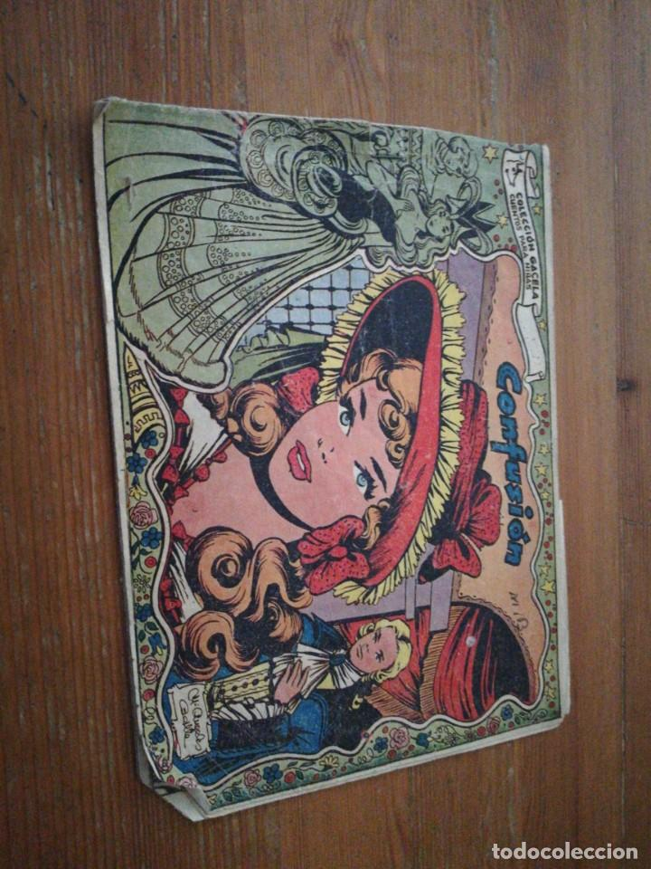 COLECCIÓN GACELA N.52 CONFUSIÓN (Tebeos y Comics - Ricart - Gacela)