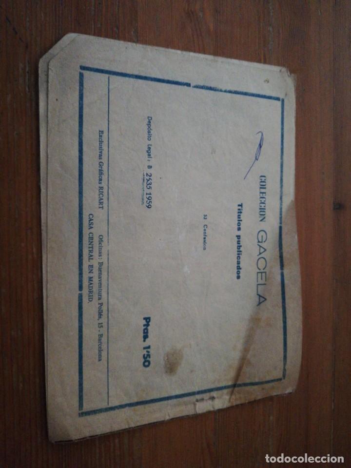 Tebeos: Colección Gacela n.52 Confusión - Foto 2 - 133017338