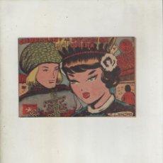 Tebeos: COLECCION AVE-EDITORIAL RICART-AÑO 1955-MEDIDAS 11X15-CM-GRAPA-Nº 394-CHORAZAN Y LA PRINCESA CHINA. Lote 133332478