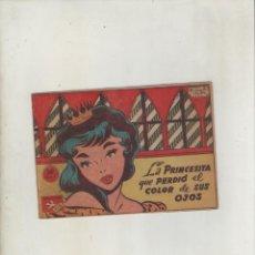 Tebeos: COLECCION AVE-EDITORIAL RICART-AÑO 1955-MEDIDAS 11X15-CM-GRAPA-Nº 493-LA PRINCESITA QUE PERDIO EL.... Lote 133333162