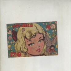 Tebeos: COLECCION AVE-EDITORIAL RICART-AÑO 1955-MEDIDAS 11X15-CM-GRAPA-2º SERIE-Nº 374-COLORIN. Lote 133336118