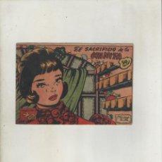 Tebeos: COLECCION AVE-EDITORIAL RICART-AÑO 1955-MEDIDAS 11X15-CM-GRAPA-2º SERIE-Nº 219-EL SACRIFICIO DE LA... Lote 133336306