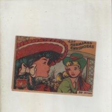 Tebeos: COLECCION AVE-EDITORIAL RICART-AÑO 1955-MEDIDAS 11X15-CM-GRAPA-2º SERIE-Nº 252-LAS HERMANAS ENVIDIO.. Lote 133336738