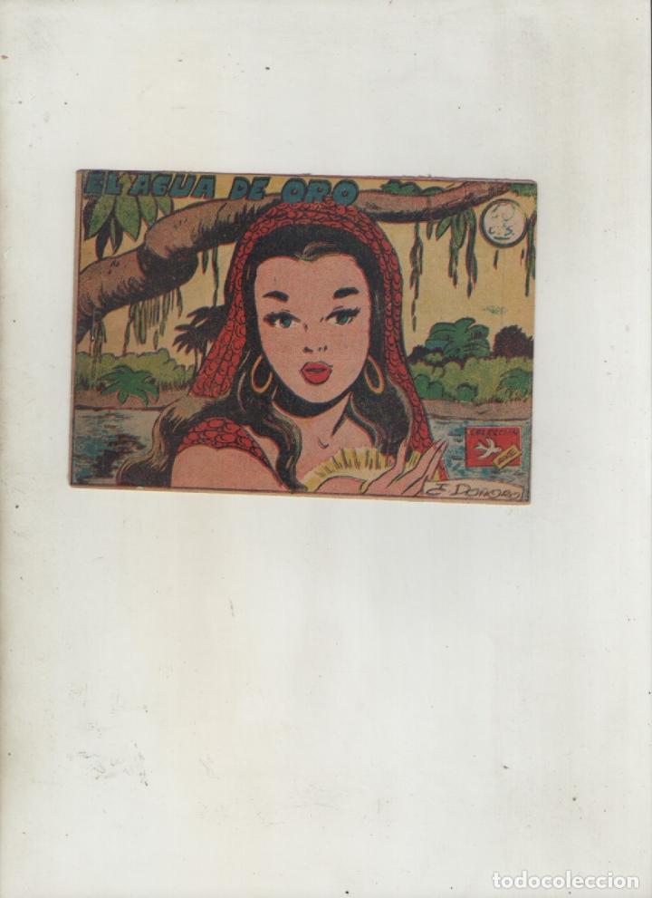COLECCION AVE-EDITORIAL RICART-AÑO 1955-MEDIDAS 11X15-CM-GRAPA-2º SERIE-Nº 333-EL AGUA DE ORO (Tebeos y Comics - Ricart - Ave)