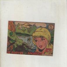 Tebeos: COLECCION AVE-EDITORIAL RICART-AÑO 1955-MEDIDAS 11X15-CM-GRAPA-2º SERIE-Nº 344-LOS RUGIDOS DEL GIGA.. Lote 133337522