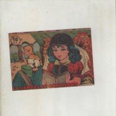 Tebeos: COLECCION AVE-EDITORIAL RICART-AÑO 1955-MEDIDAS 11X15-CM-GRAPA-2º SERIE-Nº 360-LA DONCELLA DORMILONA. Lote 133338730