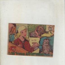Tebeos: COLECCION AVE-EDITORIAL RICART-AÑO 1955-MEDIDAS 11X15-CM-GRAPA-2º SERIE-Nº 376-LAS TRES ADVERTENCIAS. Lote 133339094
