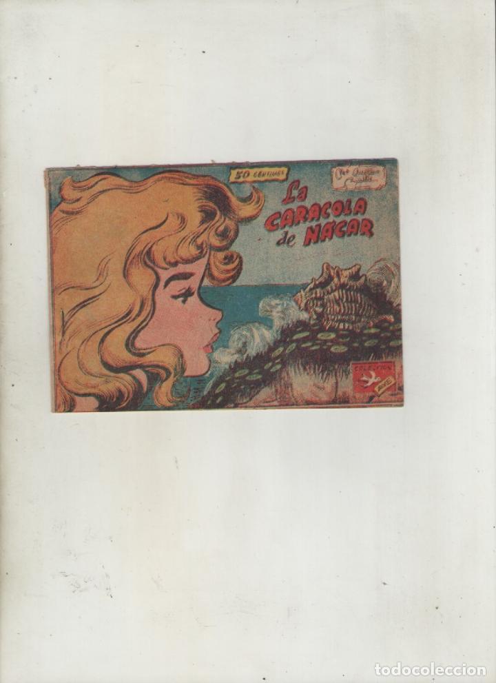 COLECCION AVE-EDITORIAL RICART-AÑO 1955-MEDIDAS 11X15-CM-GRAPA-2º SERIE-Nº 397-LA CARACOLA DE NACAR (Tebeos y Comics - Ricart - Ave)