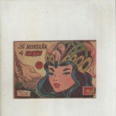 Tebeos: COLECCION AVE-EDITORIAL RICART-AÑO 1955-MEDIDAS 11X15-CM-GRAPA-2º SERIE-Nº 398-LA MONTAÑA DE IMAN. Lote 133339614