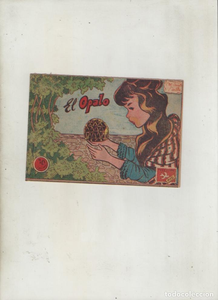 COLECCION AVE-EDITORIAL RICART-AÑO 1955-MEDIDAS 11X15-CM-GRAPA-2º SERIE-Nº 405-EL OPALO (Tebeos y Comics - Ricart - Ave)