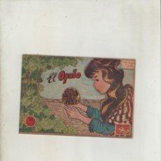 Tebeos: COLECCION AVE-EDITORIAL RICART-AÑO 1955-MEDIDAS 11X15-CM-GRAPA-2º SERIE-Nº 405-EL OPALO. Lote 133339898