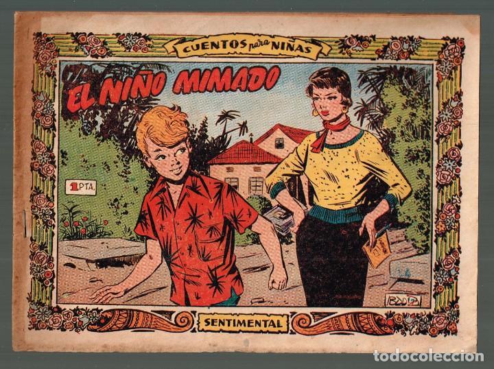 NIÑO MIMADO, EL . COL.SENTIMENTAL Nº-241 . EXCLUSIVAS GRAFICAS RICART 1959 (Tebeos y Comics - Ricart - Sentimental)
