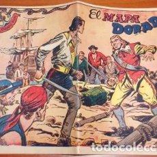 Tebeos: EL CORSARIO AUDAZ Nº 4, EL MAPA DORADO. Lote 133570726
