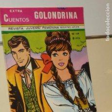 Tebeos: EXTRA CUENTOS GOLONDRINA Nº 136 REVISTA JUVENIL FEMENINA - RICART -. Lote 134856998