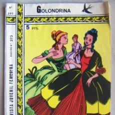 Tebeos: COLECCIÓN GOLONDRINA REVISTA JUVENIL FEMENINA- RICART Nº 260. Lote 134938558