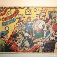 Tebeos: EL CORSARIO AUDAZ - COLECCIÓN COMPLETA. Lote 135217686