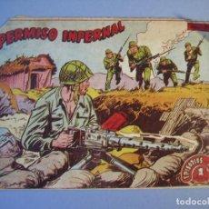 Tebeos: EPISODIOS DE COREA (1955, RICART) 27 · 1955 · PERMISO INFERNAL. Lote 136426542