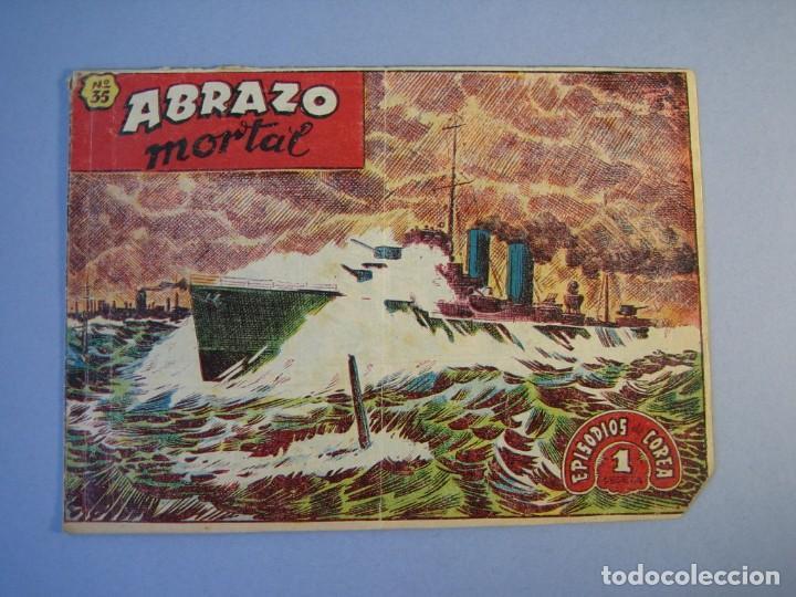 EPISODIOS DE COREA (1955, RICART) 35 · 1955 · ABRAZO MORTAL (Tebeos y Comics - Ricart - Otros)