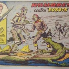 Tebeos: PLATILLOS VOLANTES SERIE 2 Nº 2 - HOMBRES CONTRA ROBOTS, AÑO 1963. Lote 138985410