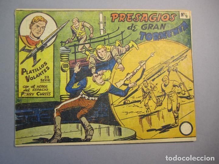 PLATILLOS VOLANTES (1955, RICART) -2A SERIE- 4 · 1956 · PRESAGIOS DE GRAN TORMENTA (Tebeos y Comics - Ricart - Otros)