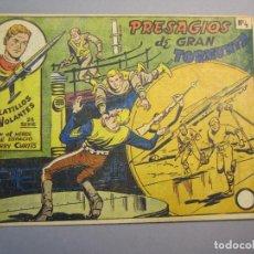 Tebeos: PLATILLOS VOLANTES (1955, RICART) -2A SERIE- 4 · 1956 · PRESAGIOS DE GRAN TORMENTA. Lote 140530354