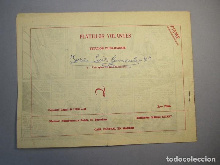 Tebeos: PLATILLOS VOLANTES (1955, RICART) -2A SERIE- 4 · 1956 · PRESAGIOS DE GRAN TORMENTA - Foto 2 - 140530354