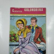 Tebeos: EXTRA CUENTOS GOLONDRINA. REVISTA JUVENIL FEMENINA. Nº 165. REGISTRO Nº 273. TDKC39. Lote 142715070