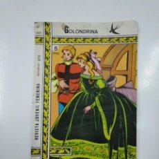 Tebeos: GOLONDRINA. REVISTA JUVENIL FEMENINA. Nº 257. TDKC39. Lote 142715302