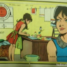 Tebeos: GARDENIA AZUL REVISTA JUVENIL FEMENINA 137- NUEVA CENICIENTA- 8 PÁGINAS 2 PTAS AÑO 1967. Lote 143347618