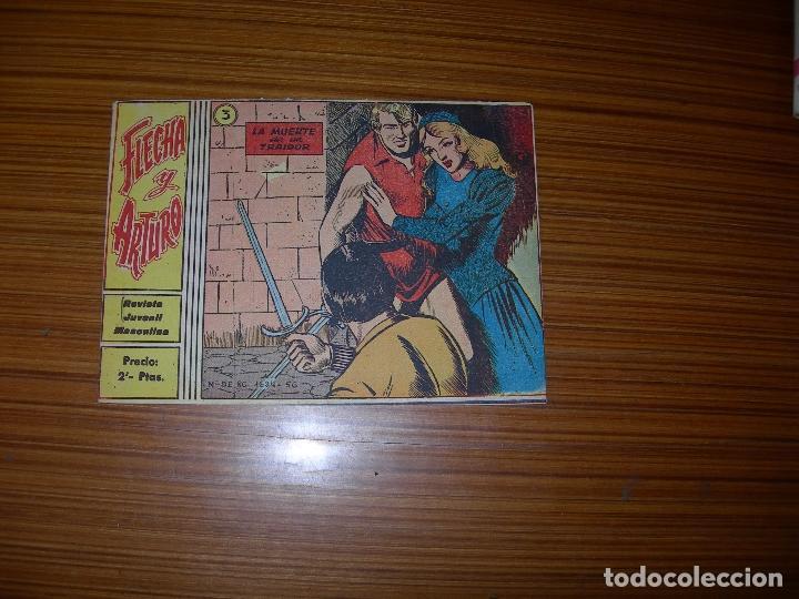FLECHA Y ARTURO Nº 3 EDITA RICART (Tebeos y Comics - Ricart - Flecha y Arturo)