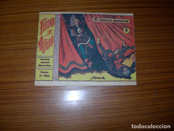 FLECHA Y ARTURO Nº 8 EDITA RICART (Tebeos y Comics - Ricart - Flecha y Arturo)
