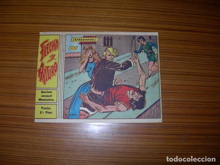 FLECHA Y ARTURO Nº 17 EDITA RICART (Tebeos y Comics - Ricart - Flecha y Arturo)