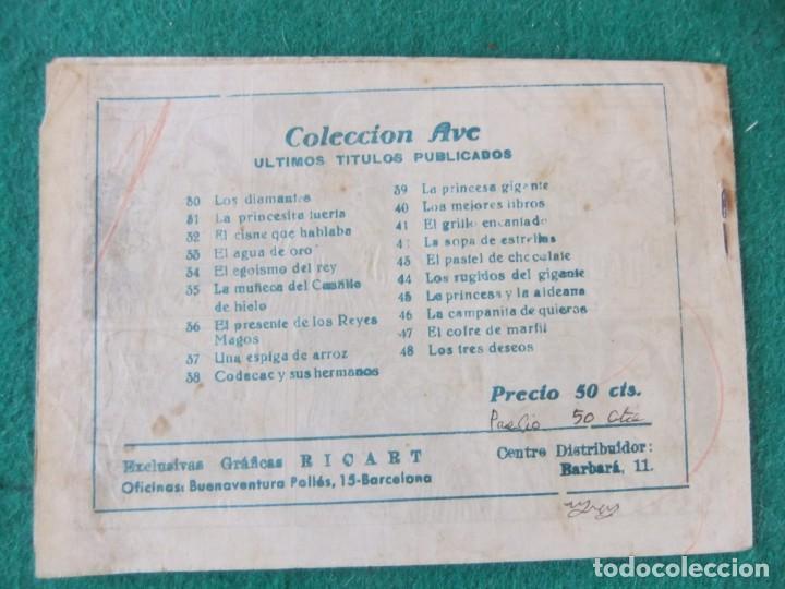 Tebeos: LOS TRES DESEOS COLECCION AVE Nº 48 RICART - Foto 2 - 144905018