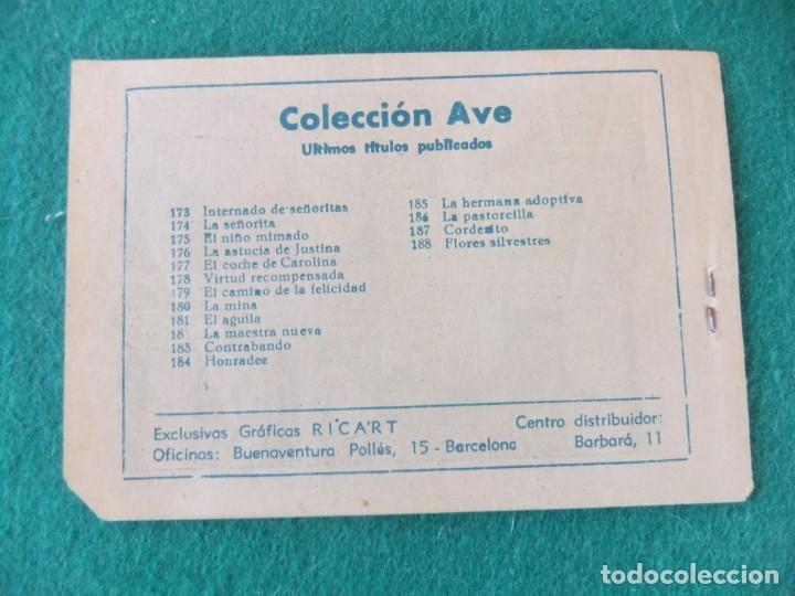 Tebeos: FLORES SILVESTRS COLECCION AVE Nº 188 RICART - Foto 2 - 144905094