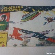 Tebeos: EXCLUSIVAS GRAFICAS RICART ORIGINAL PLATILLOS VOLANTES Nº2 DOS MUNDOS FRENTE A FRENTE. Lote 146335946