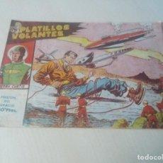 Tebeos: EXCLUSIVAS GRAFICAS RICART ORIGINAL PLATILLOS VOLANTES Nº13 PRISION DEL ESPACIO. Lote 146336414