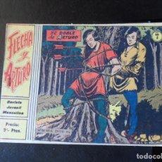 Tebeos: FLECHA Y ARTURO Nº 7 EDITORIAL RICART ORIGINAL. Lote 146576410