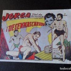 Tebeos: JORGA PIEL DE BRONCE Nº 14 EDITORIAL RICART ORIGINAL . Lote 146576726