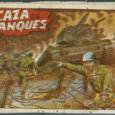 Tebeos: EPISODIOS DE COREA Nº 47 - CAZA DE TANQUES - RICART EDITOR 1951 - ORIGINAL. Lote 147882630