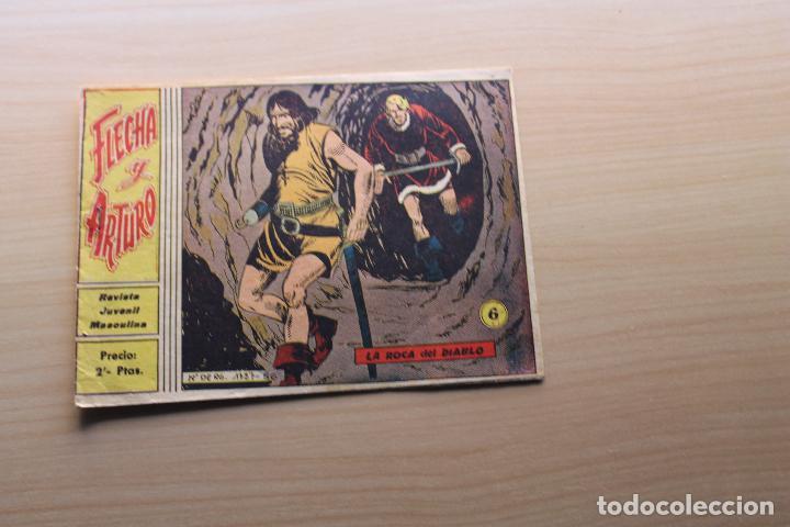 FLECHA Y ARTURO Nº 6, GRÁFICAS RICART (Tebeos y Comics - Ricart - Flecha y Arturo)