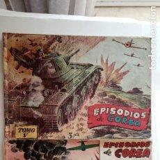 Tebeos: EPISODIOS DE COREA ORIGINALES - ALBUM 5 Y 14 - RICART 1955 - HU. Lote 150839742