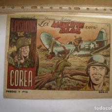 Tebeos: EPISODIOS DE COREA - NÚMERO 45 - ORIGINAL - RICART. Lote 154492666