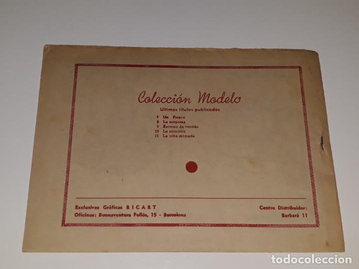 Tebeos: ANTIGUO COMIC COLECION MODELO Nº 11 - LA NIÑA MIMADA - EDITORIAL RIGART AÑOS 50 - Foto 2 - 155930742