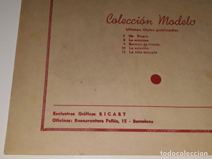 Tebeos: ANTIGUO COMIC COLECION MODELO Nº 11 - LA NIÑA MIMADA - EDITORIAL RIGART AÑOS 50 - Foto 3 - 155930742