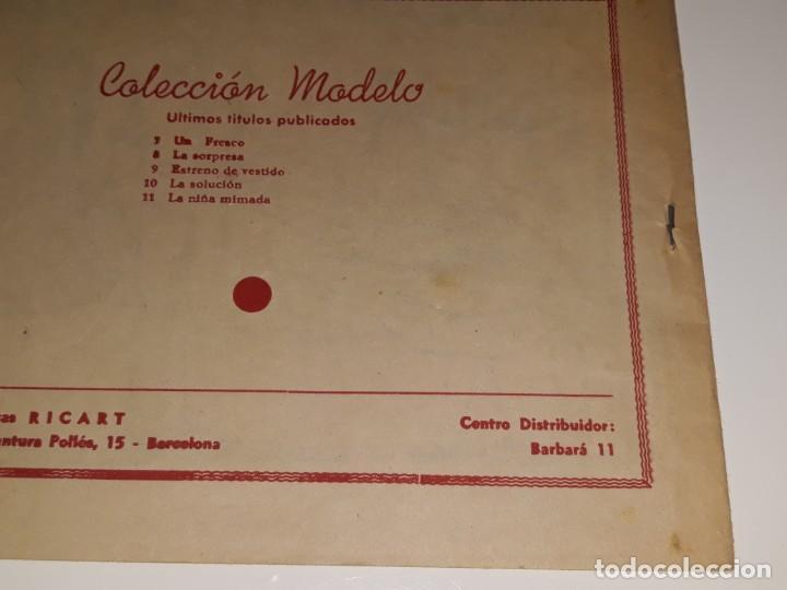 Tebeos: ANTIGUO COMIC COLECION MODELO Nº 11 - LA NIÑA MIMADA - EDITORIAL RIGART AÑOS 50 - Foto 4 - 155930742