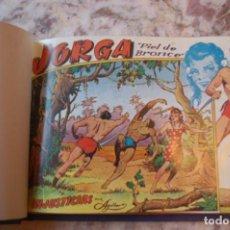 Tebeos: JORGA PIEL DE BRONCE - COLECCIÓN COMPLETA 18 EJS. - ED. RICART. Lote 156536906